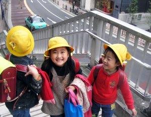 Children in Tokyo